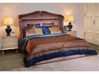 Cavio: Verona: кровать двуспальная  200х200 (ткань)