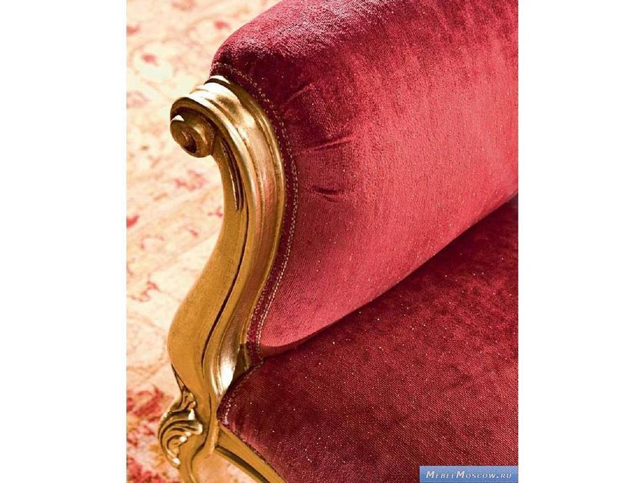 Silik: Dormeuse: кушетка  (красный, золото)