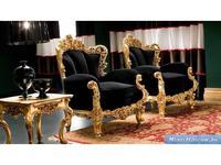 Silik: Eolo: кресло для отдыха  (черный, золото)