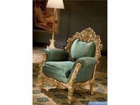 Silik: Plutone: кресло для отдыха  (зеленый, золото)