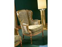 Silik: Вergere: кресло для отдыха  (фисташковый, золото)