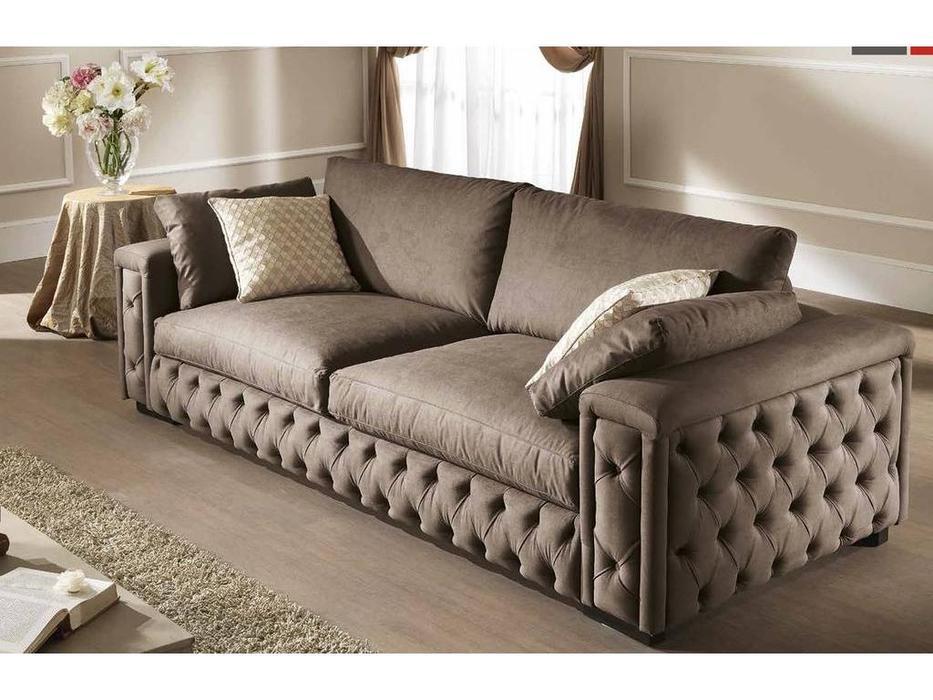 Essepi: Megan: диван 3 местный раскрадной  ткань кат. Super