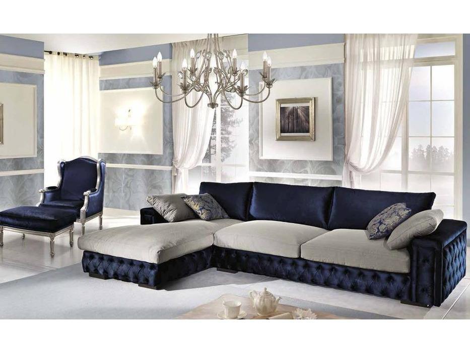 Essepi: Megan: диван угловой  ткань кат. L