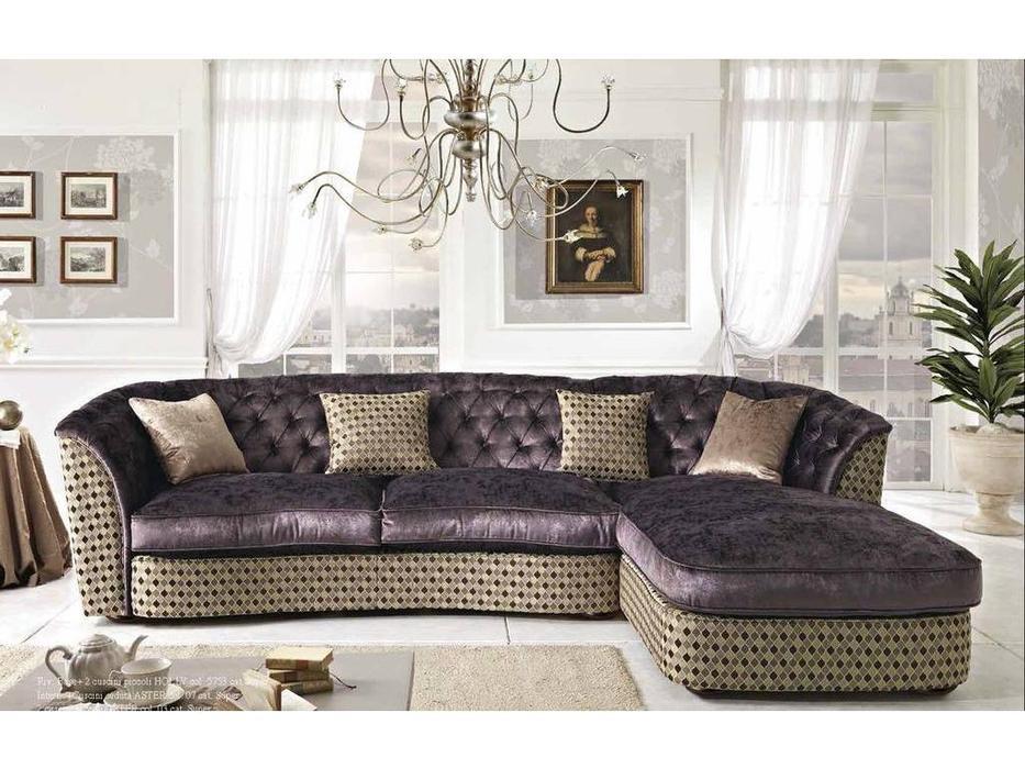 Essepi: Drum: диван угловой  раскладной ткань кат. Super