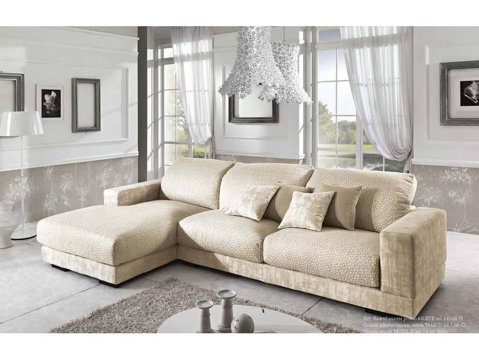 Essepi: Layla: диван угловой  раскладной ткань кат.G