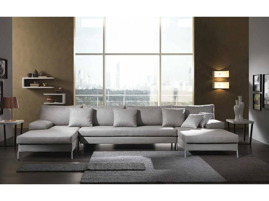 Essepi: Blues: диван угловой  ткань кат. Lusso