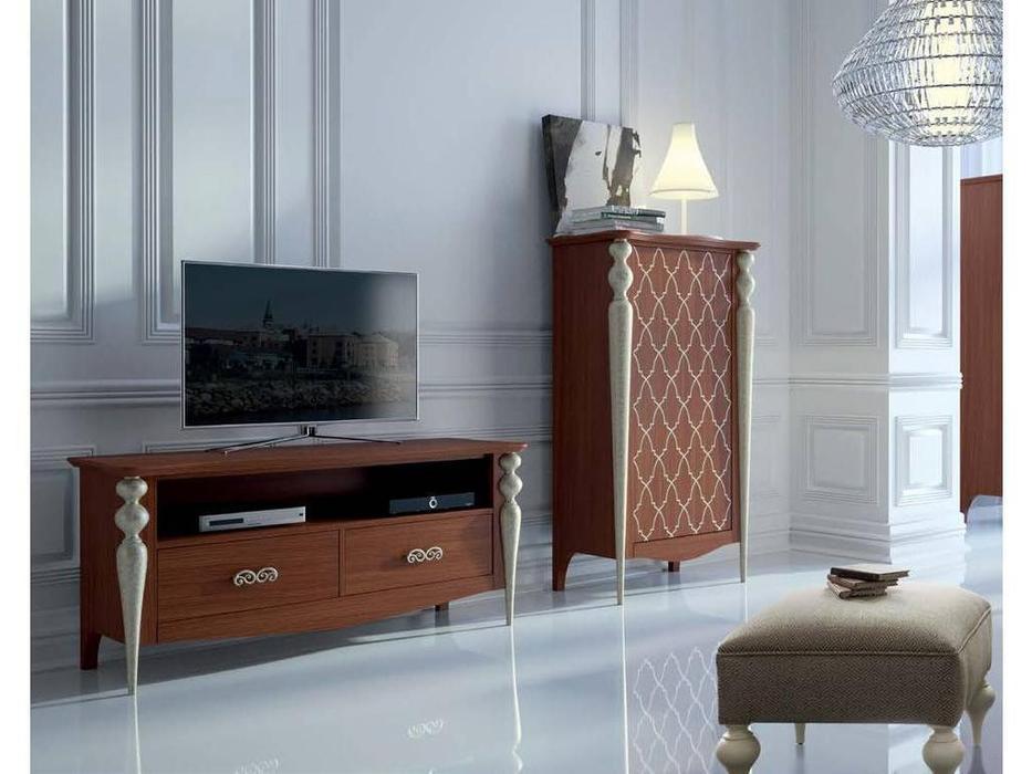 Mugali: Galiano Pasion: тумба под телевизор  (коричневый)