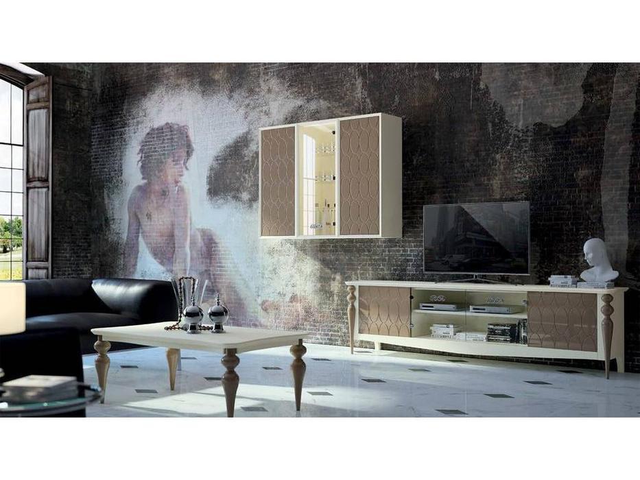 Mugali: Galiano Pasion: тумба под телевизор  (серый)