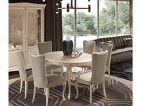 GiorgioCasa: Valpolicella: стол обеденный  раскладной (cipria opaco)