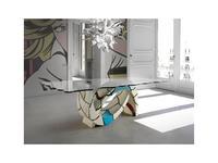 Lola Glamour: Gaudi: стол обеденный  (разноцветный)