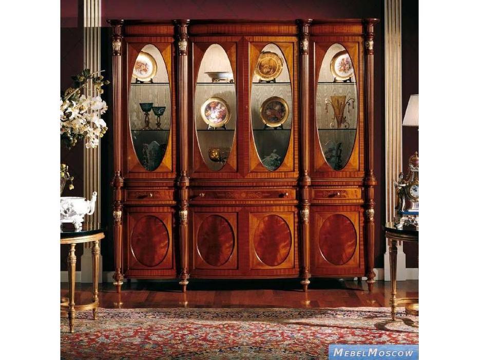Armando Rho: Elegance: витрина 4-х дверная 3 ящика