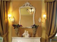 5200920 зеркало настенное Stile Legno: Bianca