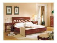 Monte Cristo: Maria Silva: кровать 160х200  (noce chiaro)