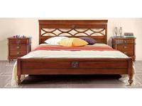 Monte Cristo: Bourbon: кровать 180х200  (noce chiaro)