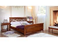 Monte Cristo: Bourbon: кровать 160х200  (noce chiaro)