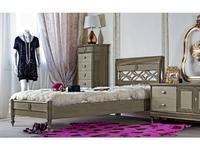 Monte Cristo: Bourbon: кровать 120х200  (grigio begie)