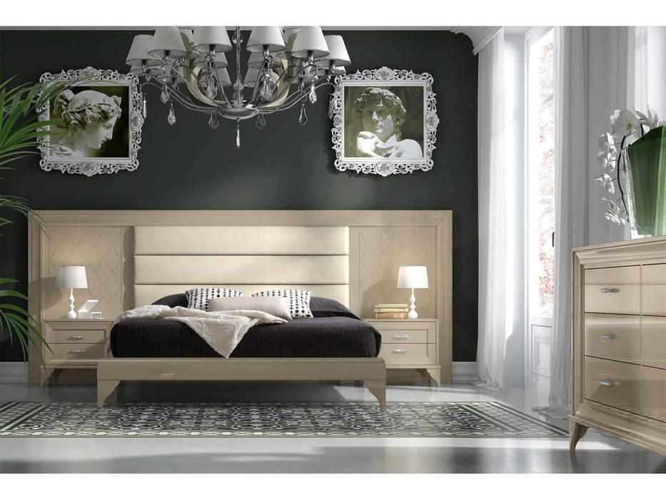 Mugali: Emocion: кровать 180х200  (беж)