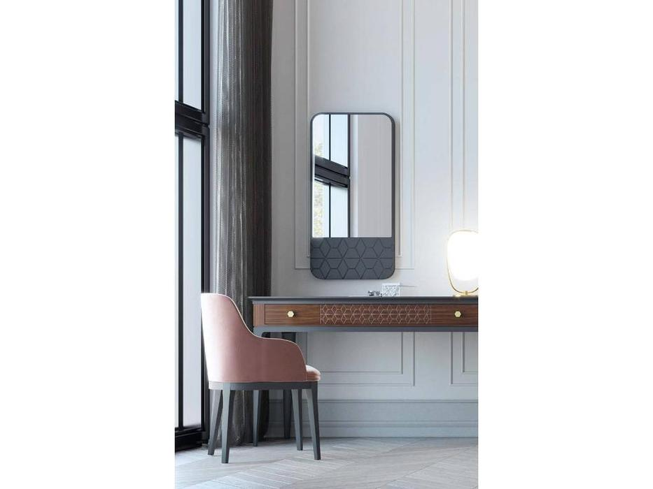 Mugali: Maria: зеркало навесное  (серый)