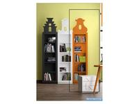 Coim: Amarcord: шкаф книжный Amsterdam 3  (оранжевый)