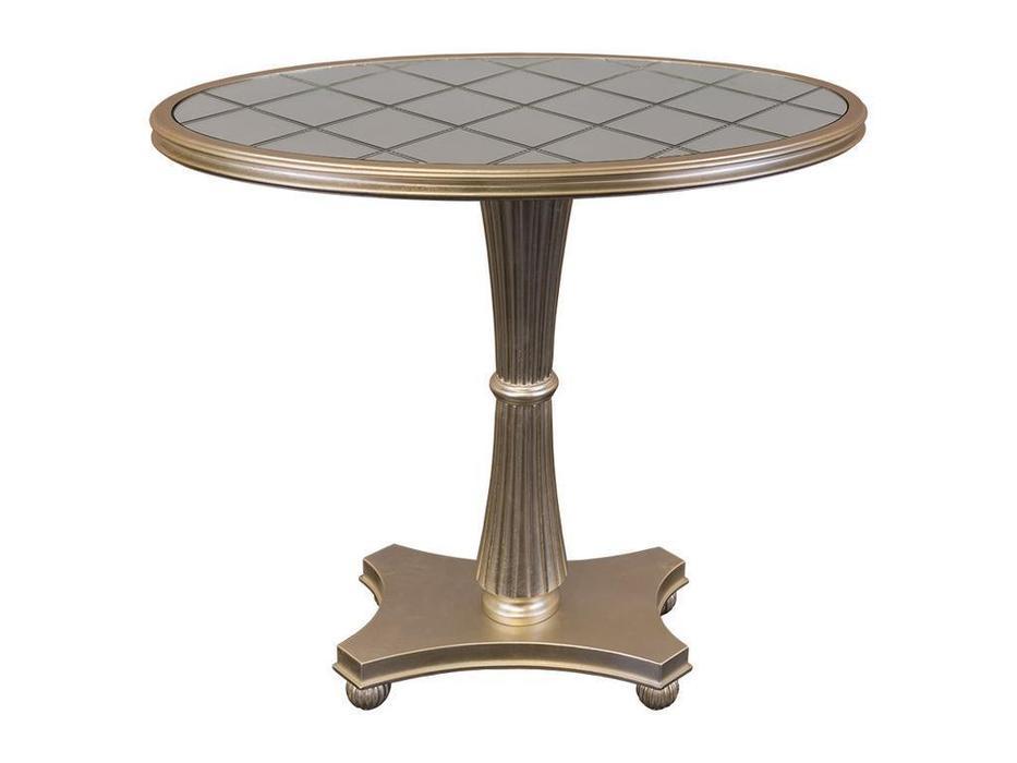 Fratelli Barri: Florence: стол кофейный  (сусальное серебро)