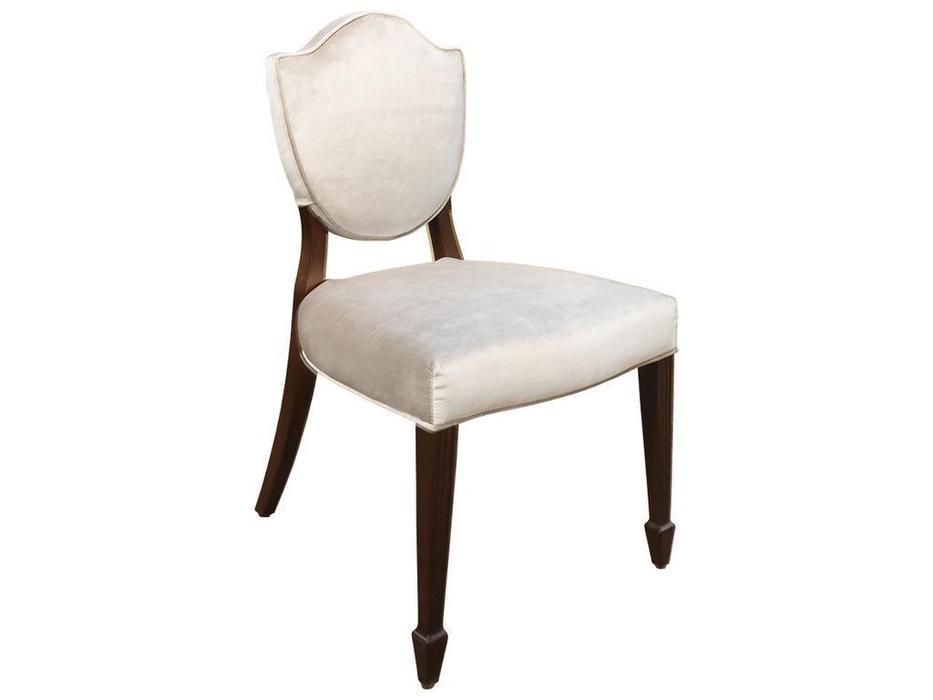 Fratelli Barri: Mestre: стул  ткань серый велюр (шпон вишни)