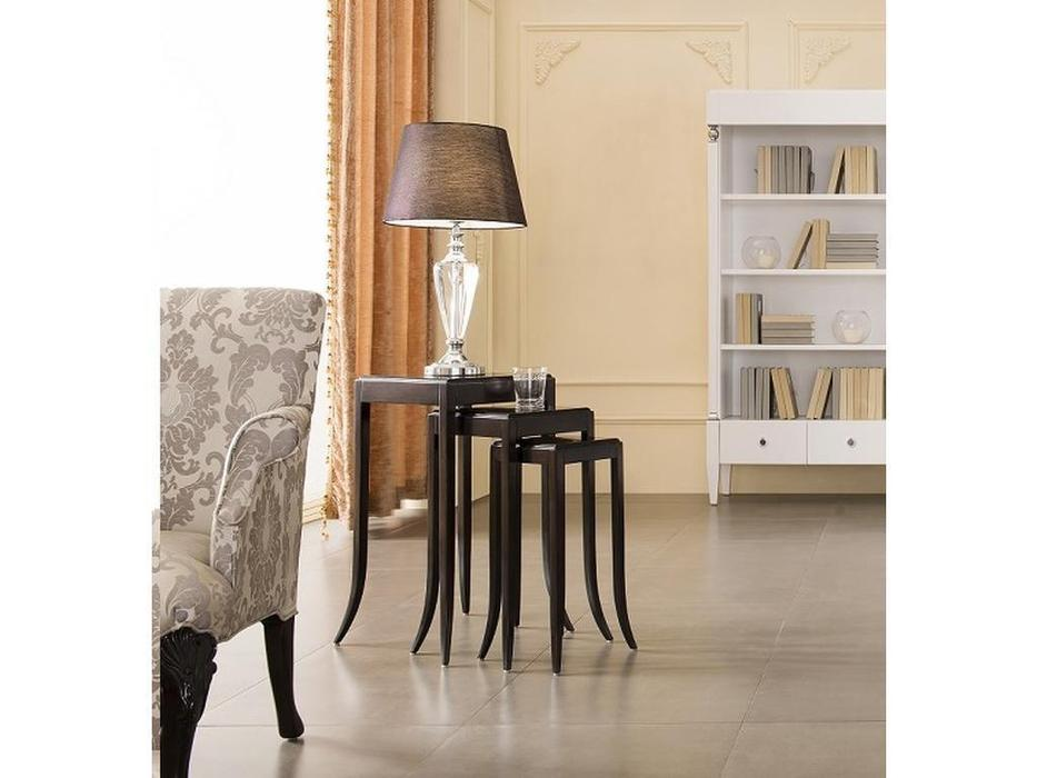 Fratelli Barri: Mestre: набор столиков - 3шт.  (шпон махагон)