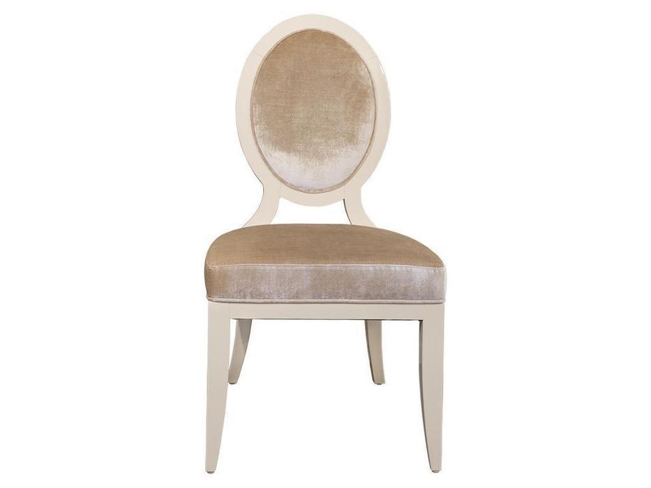 Fratelli Barri: Modena: стул  ткань велюр (бежевый лак)