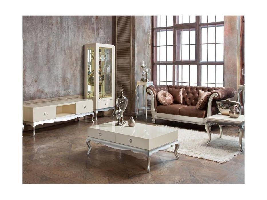 Fratelli Barri: Venezia: гостиная (кремовый лак, серебро)