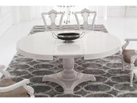 Fratelli Barri: Rimini: стол обеденный раскладной круглый