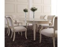 Fratelli Barri: Modena: стол обеденный  раскладной (бежевый лак)