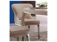 Fratelli Barri: Rimini: стул  (бежевый, серебро)