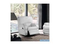 M.Soria: Karina: кресло с реклайнером кожа