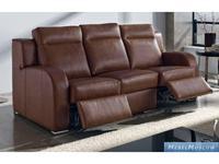 M.Soria: Kioto: диван трехместный с реклайнером кожа