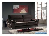 M.Soria: Tiziano: диван двухместный кожа
