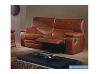 M.Soria: Lara: диван двухместный с реклайнером кожа