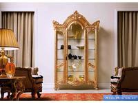 Silik: Complementi: витрина однодверная (золото)