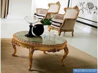 Silik: Complementi: стол журнальный (золото)