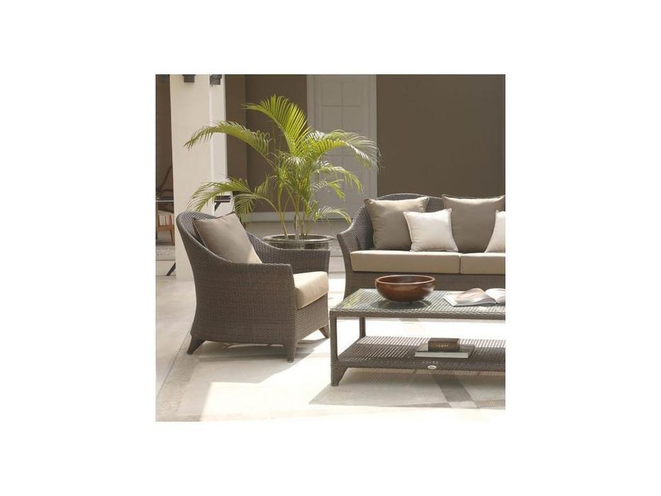 Skylinedesign: Malta: кресло с подушками  (MOCCA CANVASS VELUM 5498)
