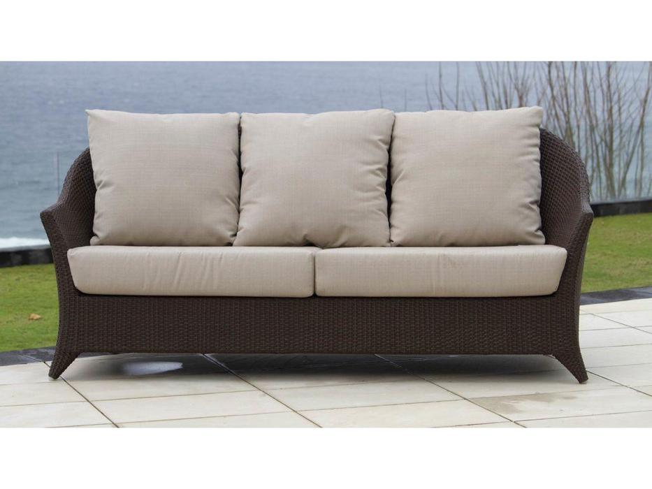 Skylinedesign: Malta: диван с подушками  (MOCCA CANVASS VELUM 5498)