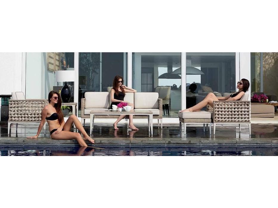 Skylinedesign: Heart: диван 3-х местный с подушками  (Seashell)