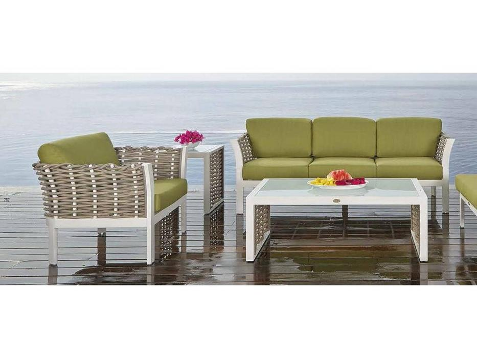 Skylinedesign: Olivia: стол журнальный  (KUBU / WHITE MATT)