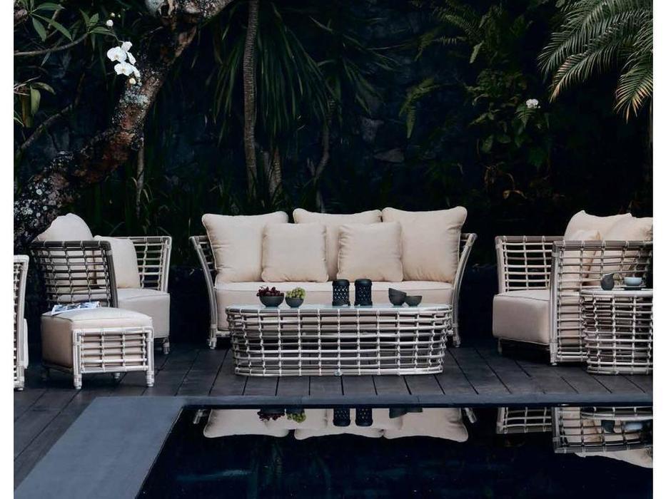 Skylinedesign: Villa: диван 3-х местный  (WHITE MUSHROOM)