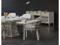 Skylinedesign: Villa: кресло  обеденное (WHITE MUSHROOM)