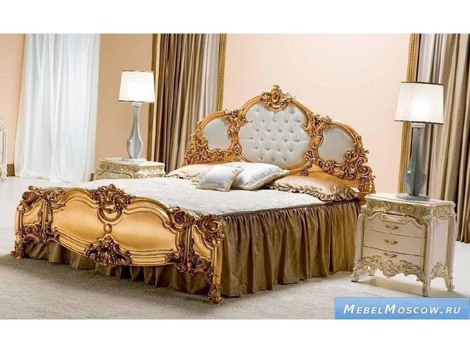 Silik: Pandora: кровать 180х200 ткань  (золото)