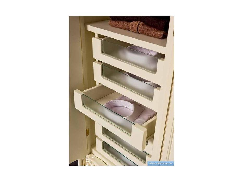 Silik: Pandora: шкаф 6-ти дверный  (слоновая кость)