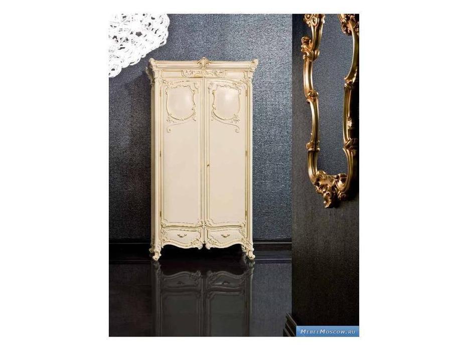 Silik: Pandora: шкаф 2-х дверный  (слоновая кость)