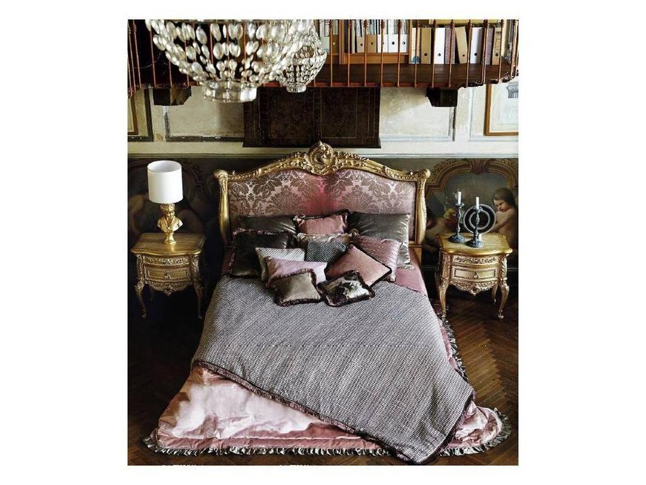 Silik: Vesta: кровать 180х200  (ткань, золото)