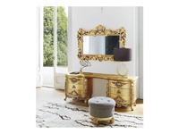Silik: Aura: стол туалетный  (золото)