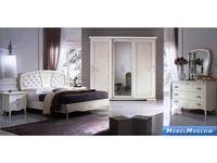 Cinova: Ninfea: спальная комната (белый)
