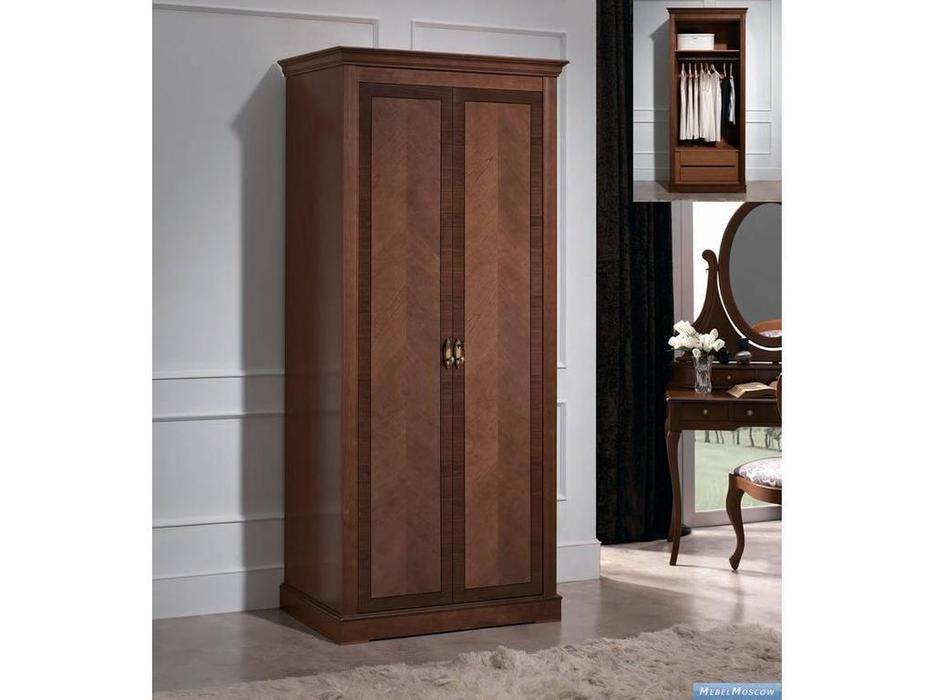 Panamar: Classic: шкаф 2-х дверный  (орех)